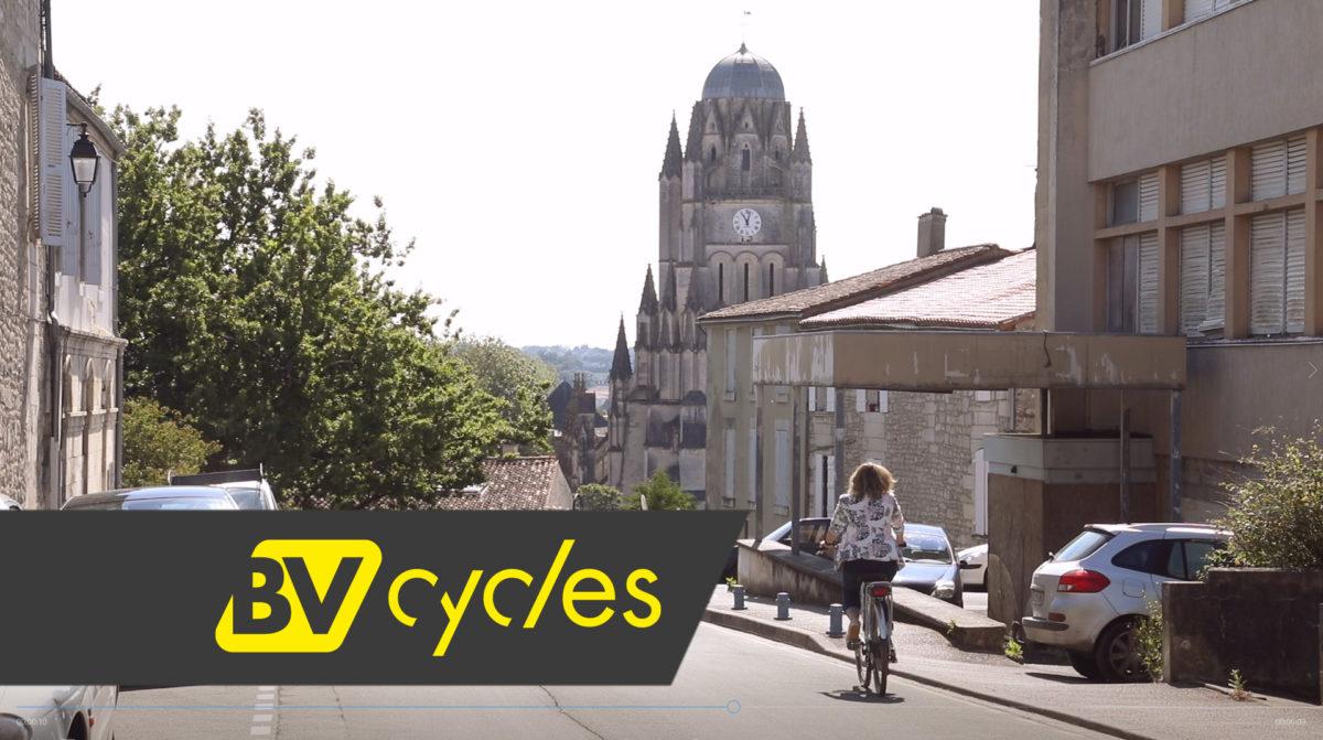 Le Vélo de ville à Saintes